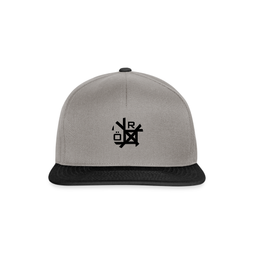 Nörthstat Group™ TecH | iCon - WHT.Knapsack - Snapback Cap