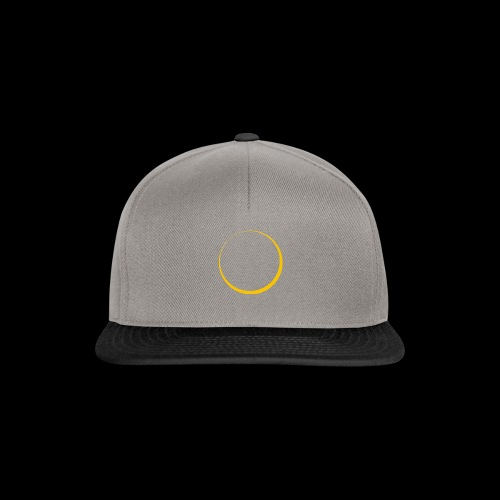 ECLIPSE - Yellow Sun - Snapback Cap