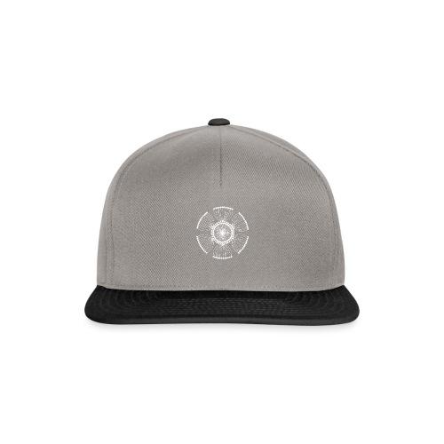 White Poppy Seed Mandala II - Snapback Cap