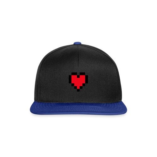 Pixel Heart - Snapback cap