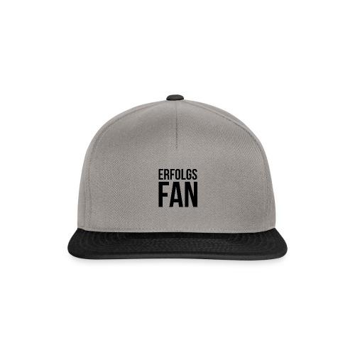 erfolgsfan_black - Snapback Cap