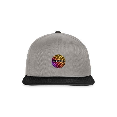 Darragh J logo - Snapback Cap