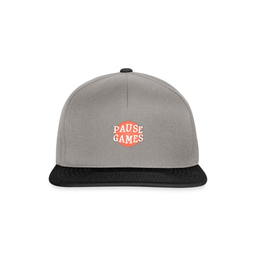 Pause Games Logo - Snapback Cap