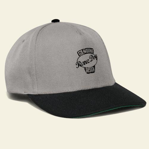 raredogdesign black - Snapback Cap