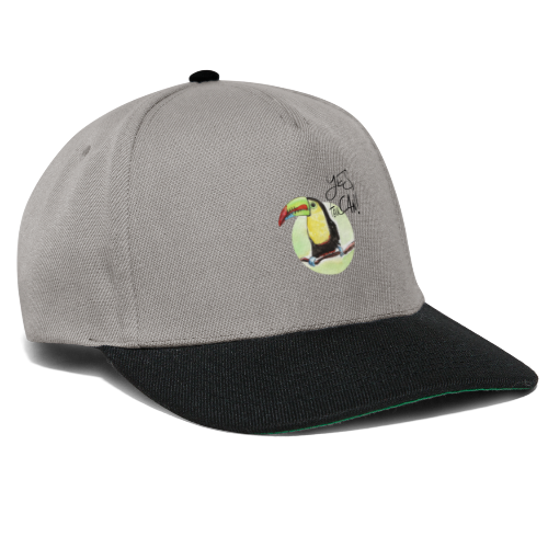 yes, toucan - Snapback Cap