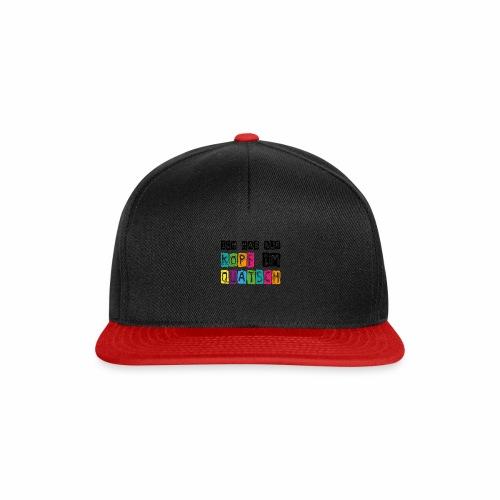 Kopfquatsch - Snapback Cap
