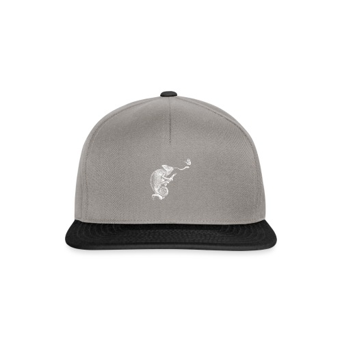 Schütze in Weiß - Snapback Cap