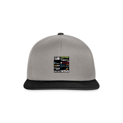 Sponsors back - Snapback Cap