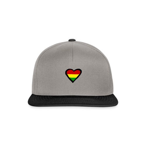 LOGO 1 RASTA BACKWARDS - Snapback cap