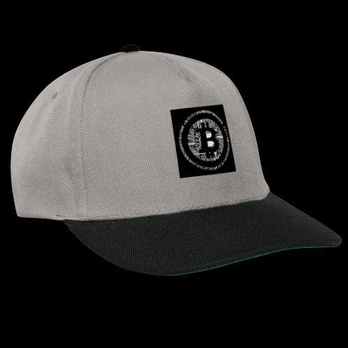 bitcoin logo - Snapback Cap