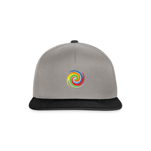 deisold rainbow Spiral - Snapback Cap