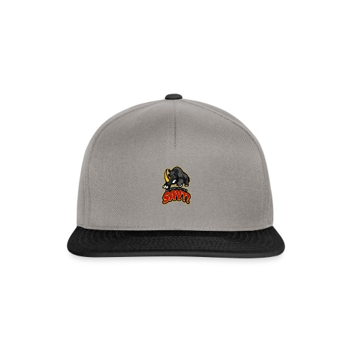 What did you say? grappige t-shirt /boze neushoorn - Snapback cap