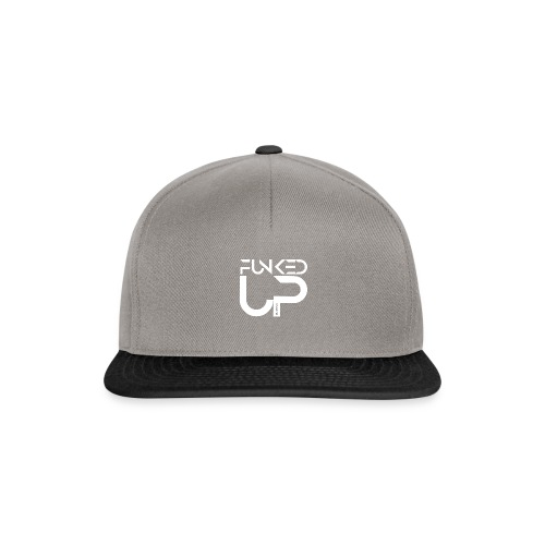 FUNKEDUP WHITE LOGO - Snapback Cap