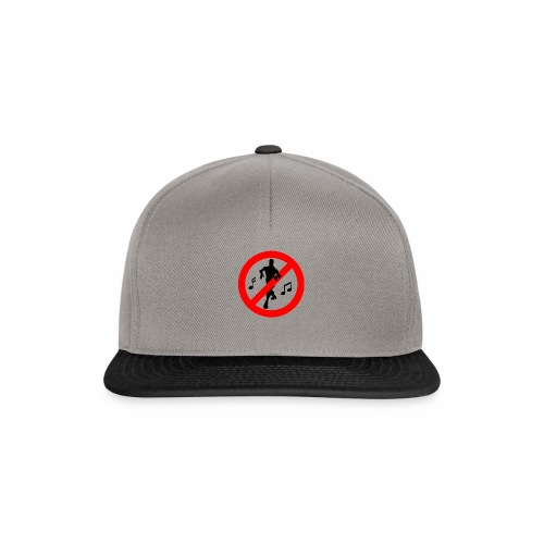 No Dancing Allowed - Snapback Cap