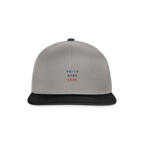Write More Code - Snapback Cap