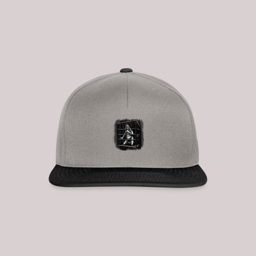 woman in cage - Snapback Cap