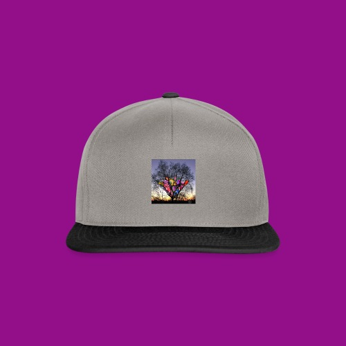 mind tree - Snapback Cap