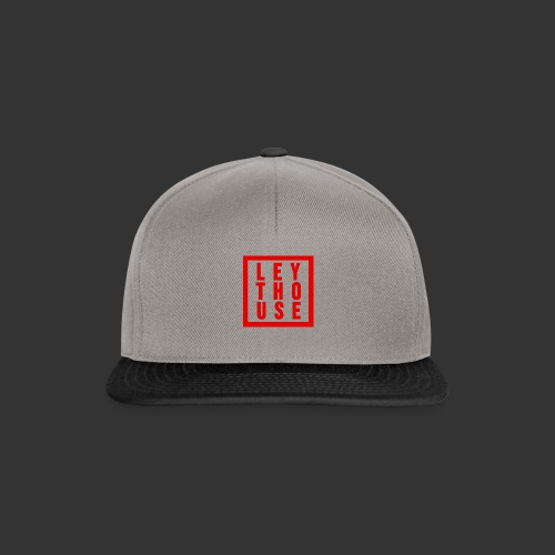 LEYTHOUSE Square red - Snapback Cap