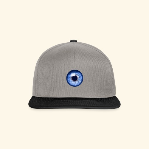 blue eye - Snapback Cap