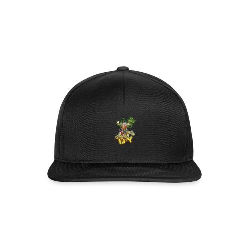 Leprechaun with beer - Snapback Cap