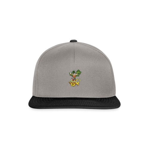 Leprechaun with beer - Snapback Cap