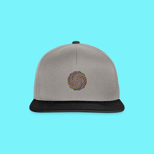 Mandala in rainbow colours - Snapback Cap