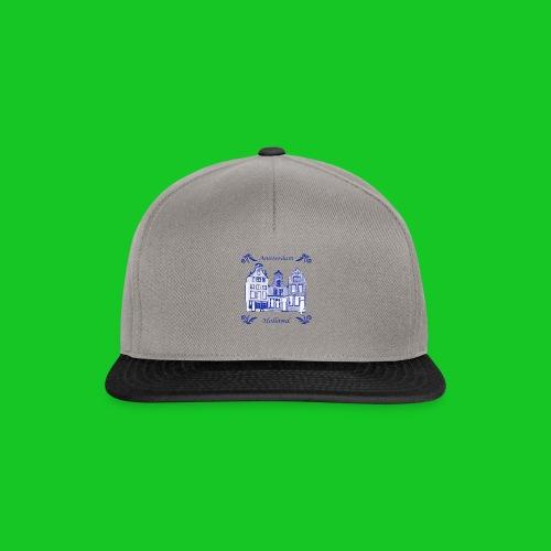 Holland Grachtenpanden Delfts Blauw - Snapback cap