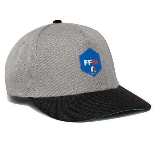 Logo de la fédé française de pêche à l'aimant - Casquette snapback