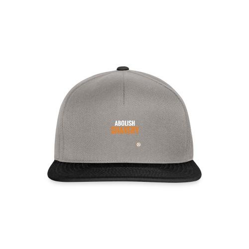 Abolish Shavery - Snapback cap
