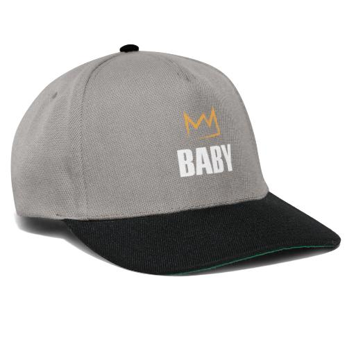 Baby mit Krone - Snapback Cap