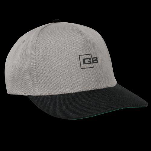 Musta Gymbox logo - Snapback Cap