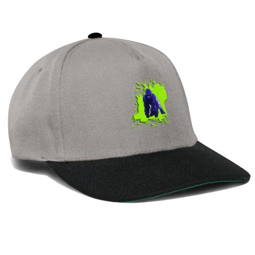 Blue Green Gorilla - Snapback Cap