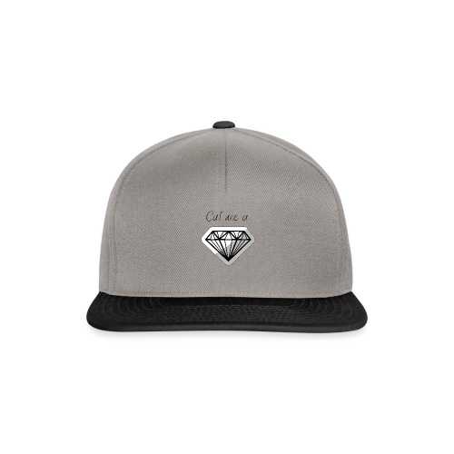 Cut me a diamond - Snapback Cap