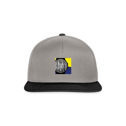 Two watch Guys logo - Snapback Cap
