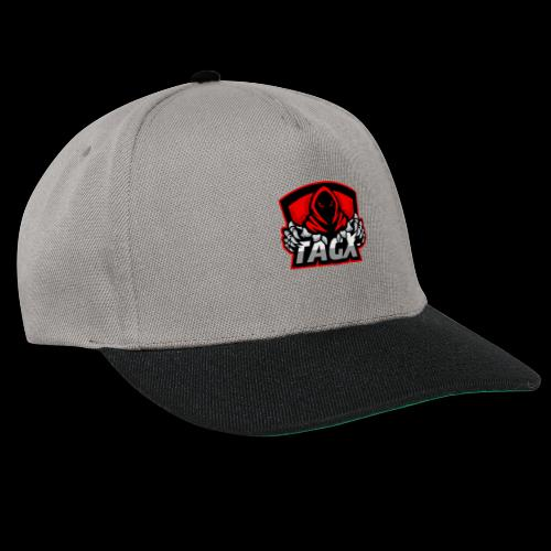 TagX Logo with red borders - Snapback Cap