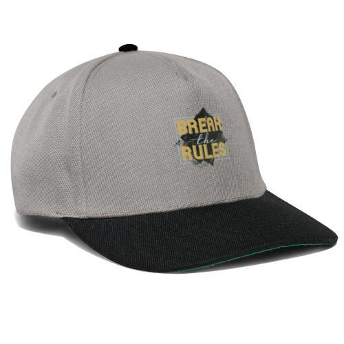 Break the Rules - Snapback Cap