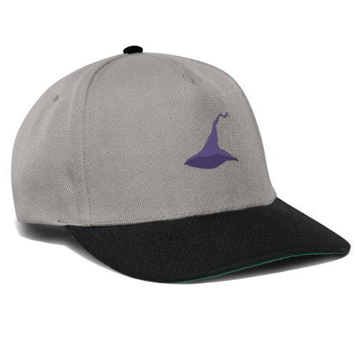 witch hat lila - Snapback Cap