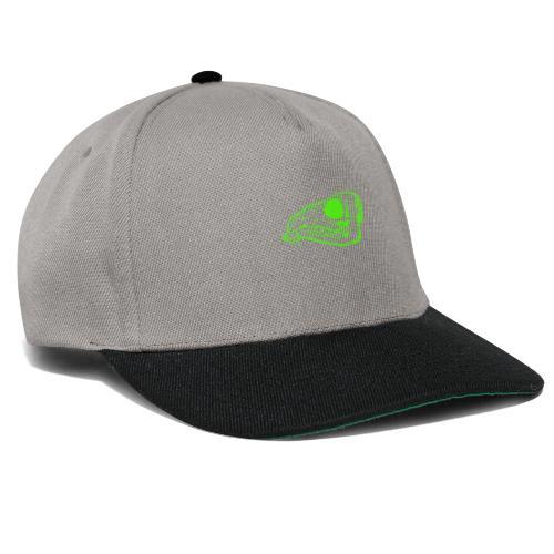 Grüner Säbezahnhirsch Schädel - Snapback Cap