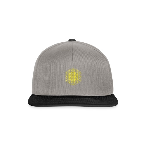 Flower of Life Dimensions Yellow - Snapback Cap