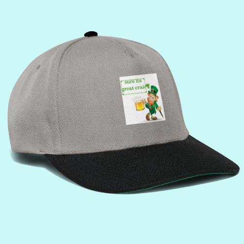 sure its great craic - Snapback Cap