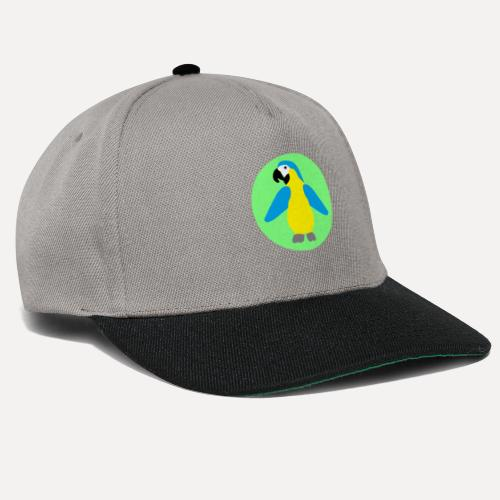 Yellow-breasted Macaw - Snapback Cap