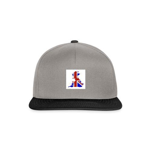 Union Jack Insel - Snapback Cap