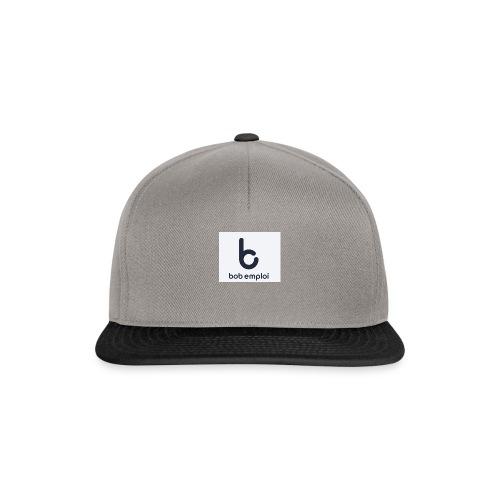 Logo_Bob_Emploi - Casquette snapback