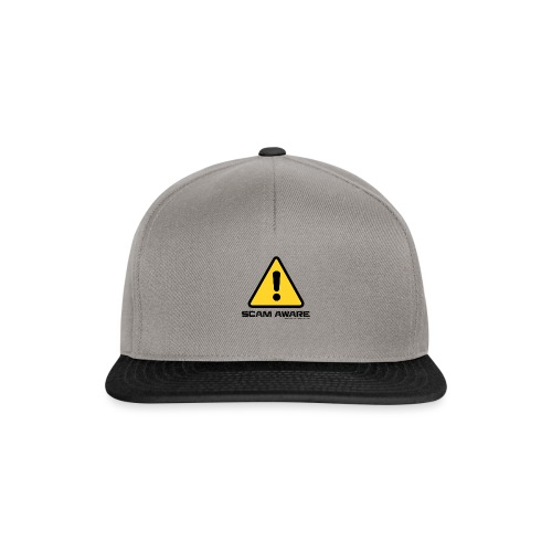 scam-aware.com's line of clothing - Snapback Cap