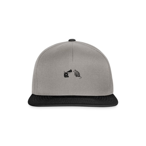 Opossum logo vC01 no text for header - Snapback Cap