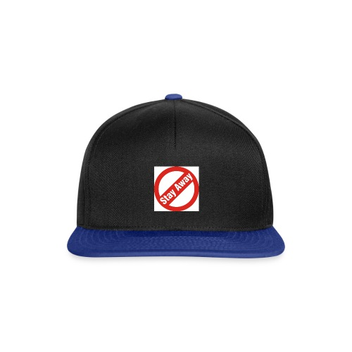 Stay Away cap - Snapbackkeps