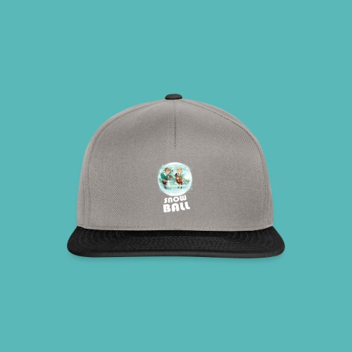 snow ball - Gorra Snapback