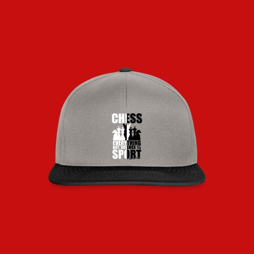 chess_for_red_OK-png - Gorra Snapback