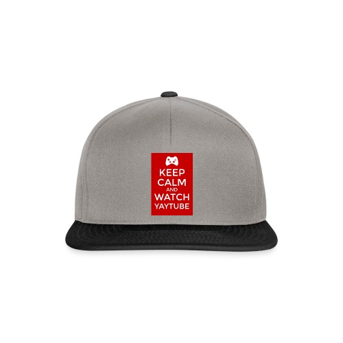 Keep Calm and Watch YayTube - Snapback Cap