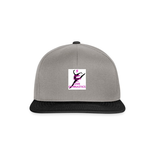 KEEP CALM AND LOVE GYMNASTICS STUFF (ON SALE) - Snapback Cap
